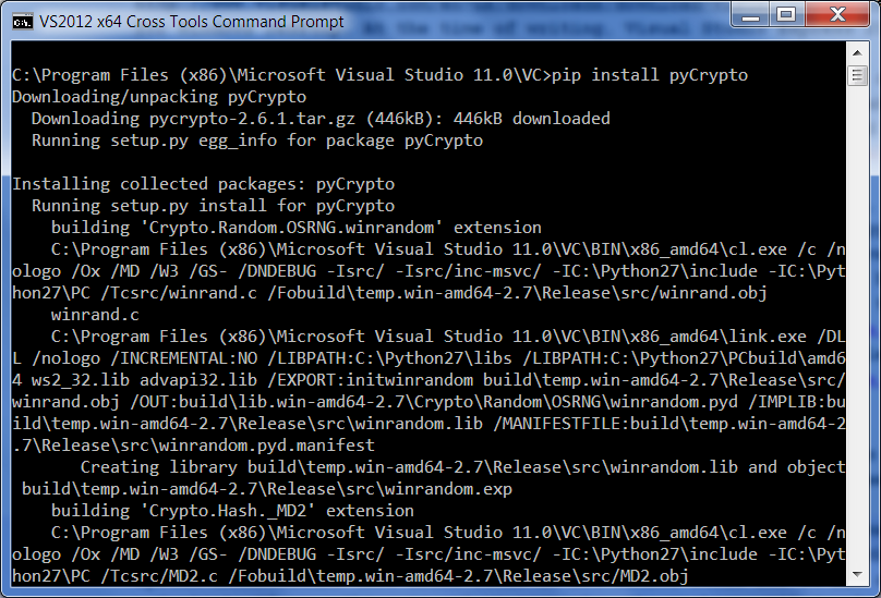 "Install hangs at ""successfully installed python 2. 7"" · issue #123."